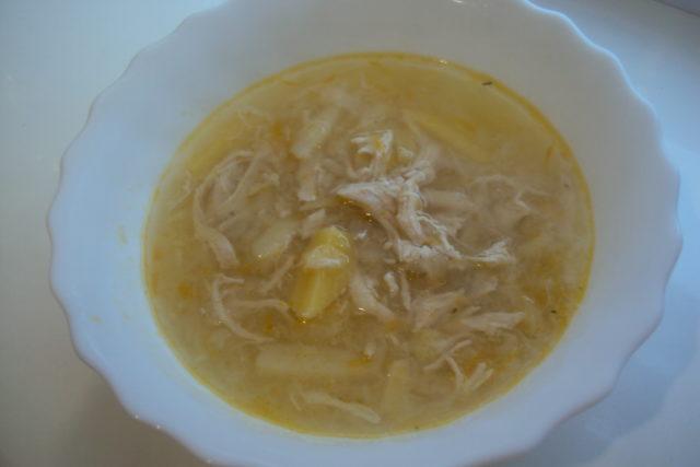 тарелка с супом